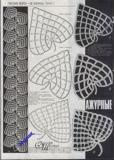 crochet fall leaves for irish fashion part 1 | make handmade, crochet, craft