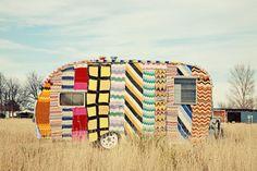 printed caravan