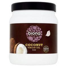 Biona Organic Coconut Virgin Oil http://www.ocado.com