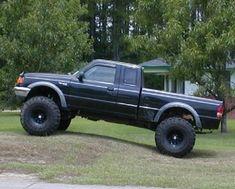 Love my ranger. Wish it was lifted like this. Diesel Trucks, Lifted Trucks, Cool Trucks, Chevy Trucks, Pickup Trucks, Small Trucks, Ranger Truck, Ford Ranger Raptor, Bronco Ii