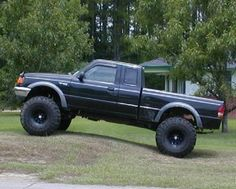 Lifted Ford Ranger | Ford Ranger/Bronco II Tire Fitment