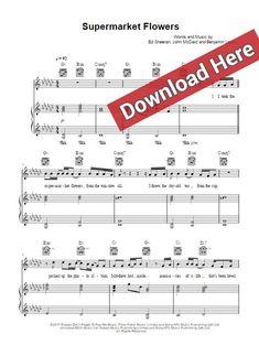 Ed sheeran castle on the hill sheet music piano notes chords sheet music partituras - Ed sheeran dive chords ...