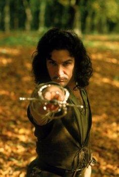 """""""Hello, my name is Inigo Montoya. You killed my father. Prepare to die.""""  Mandy Patinkin played the swordsman out to avenge the death of his father. ♥"""