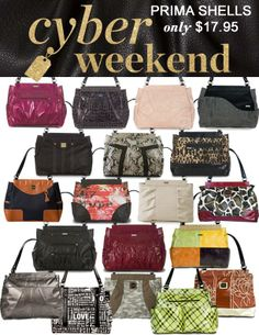 Miche Black Friday Cyber Weekend Monday Select Prima Bag Shells 12 95 Going Out Of Businessweekend