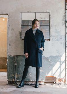 maisonmarais F/W 2014 ,  long coat