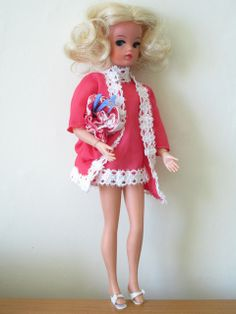 Sindy doll in 1971 'Sweet Dreams' outfit
