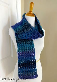 The Tweedy Puff Stitch Scarf is a fun scarf full of texture and rich, saturated colors. If you have never worked the puff stitch be...