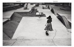 Model Aymeline Valade Lands Skateboard Tricks In New Editorial