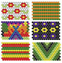 Peyote Stitch Sleeve Tutorial und Musterideen The post Peyote Stitch Sleeve Tutorial und Muster& appeared first on Upload Box. Native Beading Patterns, Beaded Earrings Patterns, Seed Bead Patterns, Bead Earrings, Peyote Stitch Tutorial, Peyote Stitch Patterns, Seed Bead Tutorials, Beading Tutorials, Beaded Bracelets