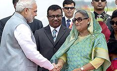 PM Modi begins 'historic' Dhaka visit, thanks Sheikh Hasina for warm welcome Check more at http://www.wikinewsindia.com/english-news/hindustan-times/national-ht/pm-modi-begins-historic-dhaka-visit-thanks-sheikh-hasina-for-warm-welcome/