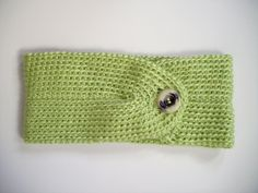 Easy Headband with Button Pattern