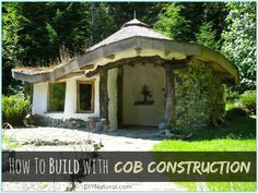 Cob house construction is an ancient building technique using lumps of earth mixed with sand, straw, and water. Cob can build homes, barns, coops, and more.