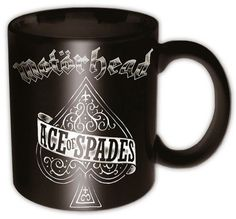 Taza de #Motörhead Ace of Spades #Lemmy #rock #merchandising