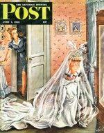 Wedding Dress-Up (Constantin Alajalov, June 1, 1946)