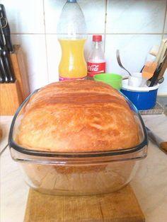 1 kg lisztből készítettem ezt a kenyeret, el is mondom a receptjét Fondant, Bakery, Breads, Recipes, Food, Bread Rolls, Recipies, Essen, Bread