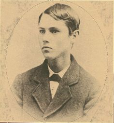 Jesse James as a boy