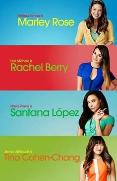 Santana and Rachel are my favs Glee Club, Naya Rivera, Marley Rose, Female Singers, Best Shows Ever, Best Tv, Favorite Tv Shows, Movies And Tv Shows, Musicals