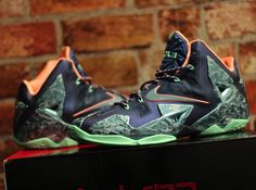 lebron 11 laser customs 01 Nike LeBron 11 Laser Customs by Absolelute for Soley Ghost