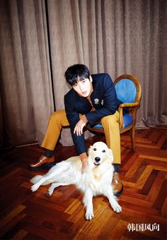 Of dapper suits and labradors! Ji Chang Wook of The K2 slays in latest photoshoot