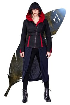 All [Womens] – Page 2 – Volante Design Coats For Women, Jackets For Women, Motorbike Leathers, You Can Do Anything, Red Accents, Change The World, World Of Fashion, Assassins Creed, Womens Fashion