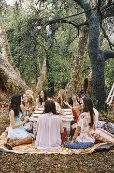 inspiration | boho brunch bridal shower | 100 Layer Cake