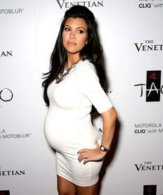 I'd love to look like this when I'm pregnant...