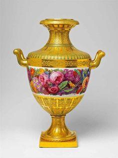 Outstanding KPM Porcelain Vase, 1838.