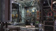 sci-fi interior of space ship by Siddhupol.deviantart.com on @DeviantArt
