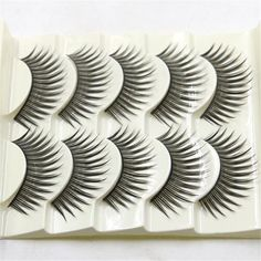 OutTop 5 Pairs Fashion Natural Handmade Long False Eyelashes Makeup  best seller #30