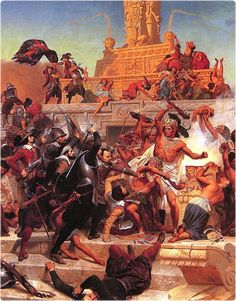 the extent to which the spanish conquest of mexico affect the indigenous culture of the people of me Causes and consequences of the spanish conquest of america the spanish conquest of america a retelling of the spanish conquest of mexico by the people.