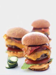 All-American BBQ Sliders  (The Yummiest Burger Recipes Ever - Redbook)