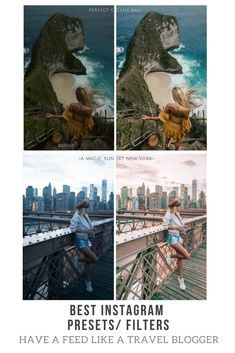 Best Instagram filters / presets. Available to FREE Lightroom CC mobile app. SO EASY to have a feed like a travel blogger. #instagram #feed #instagramers #blogger #travelbloggers #travel #instagramfilters #filters #lightroom #lightroomcc #travelinhershoes #fashion #fashionfilters #instagrampresets #presets #lightroompresets #insta #vsco #howtoedit #edit #instagram #photos #tropic #newyork #blogerka #zdjecia #instaphoto #instazdjecia