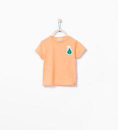 ZARA - KIDS - Fruit appliqué T-shirt $6.90