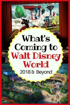 Disney World Tips | List of updates to Walt Disney World. See everything coming in 2018 and beyond.