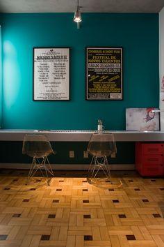Estilo industrial leva descontração a apartamento gaúcho - Casa Vogue | Apartamentos