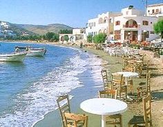 Kythnos, enjoy your drink or lunch by the sea