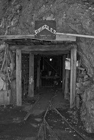 Smuggler Mine upper entrance. Aspen, CO. Photo by Toni Case.