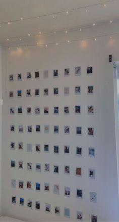 💫 polaroid photo wall 💫