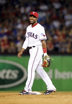 Pin Number: 4 Elvis Andrus is my current favorite Rangers player! #RangersHoliday