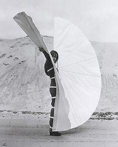 Rebecca Horn - White Body Fan
