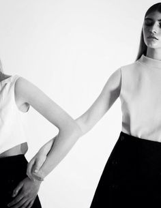 Chic Minimalism - minimal fashion photography, understated style