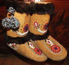 Cree Moccasins on Ebay, beautiful!