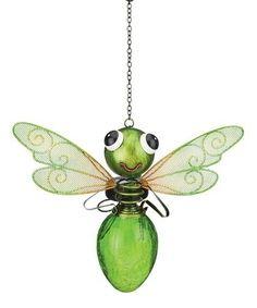 Look at this Green Dragonfly Solar Lantern by Regal Art & Gift Solar Powered Lanterns, Solar Lanterns, Lanterns Decor, Solar Lights, Bernardo Y Bianca, Metallic Copper Paint, Dragonfly Decor, Dragonfly Painting, Solar Led