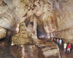 Natural Bridge Caverns...right next door to the Wild Animal Park and just minutes north of San Antonio...