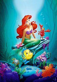 Canvas Art The Little Mermaid Poster Little Mermaid Princess Wall Stickers Fairy Tale Wallpaper Mural Kids Christmas Decor The Little Mermaid Poster, Little Mermaid Wallpaper, Little Mermaid Art, Mermaid Wallpapers, Cute Disney Wallpaper, Little Mermaid Cartoon, Princesa Ariel Disney, Mermaid Disney, Disney Little Mermaids