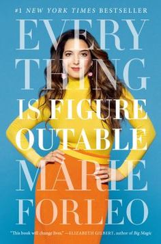 Everything is Figureoutable, #MarieForleo Highland Library, March 2020. #BookClubBooks #Non-Fiction #2020 #MedinaLibrary
