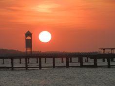 Pôr do Sol no Espigão da Praia de Iracema - Fortaleza