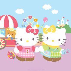C'est la fête des soeurs! Saviez-vous que Hello Kitty a une soeur jumelle appelée Mimmy?