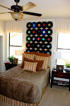 Records on the wall!