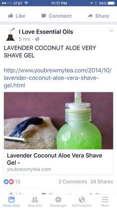 Shave Gel, Shaving Cream, Essential Oils, Essential Oil Uses, Essential Oil Blends